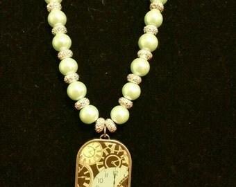 Cinderella's stroke of 12 necklace
