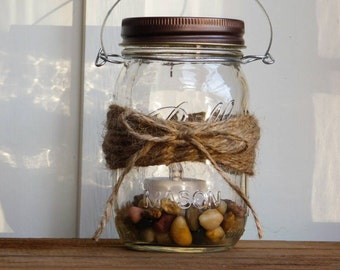 Rustic Country Mason Jar Hanging Vase Candle Holder Lantern Wedding Outdoor Lighting Home Decor