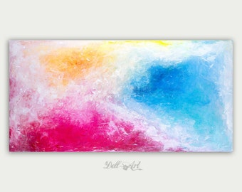 Original Abstract Art Modern Painting Primary ColorsHome Decorations Canvas Fine Art Home Decor