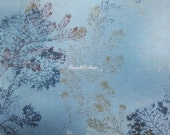 Woods, light blue, 1/2 yard, pure cotton fabric