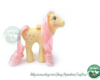 My Little Pony Rosedust Flutter Pony: Vintage 80s Toy Incredible Pink Hair