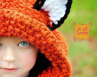 Fox Hooded Cowl, Fox Cowl, Fox Hood, Fox Hat, Adult Fox Hood, Child Fox Hood, Winter Wear, Winter Fashion, Adult Fox Cowl, Child Fox Cowl