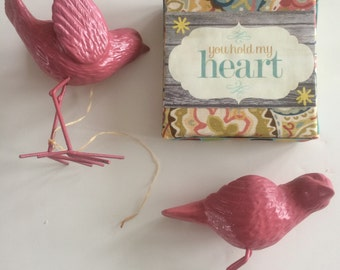 15% off- was 15.50- Lovebirds Gift Set
