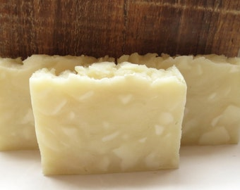 Clearance - Sensitive Skin Unscented Hot Process Rustic Soap - Fragrance Free