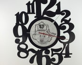 Handmade Vinyl Record Wall Clock Hanging Clock  (artist is Puff Daddy P Diddy)