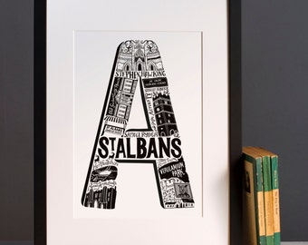 St Albans print