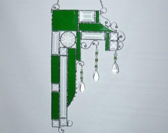 Sun Catcher - Jewled - Prisum - Beveled Glass - Glass Gem - Hanging - Prisums - Custom - Choose your Colors - Unique - Window Art