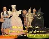 Wizard of Oz birthday party centerpiece