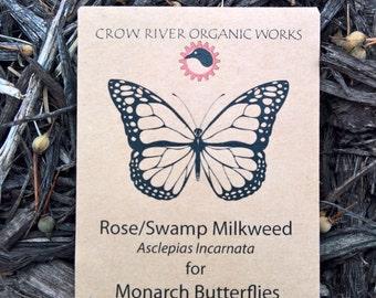 Rose Milkweed Seed for Monarch Butterflies