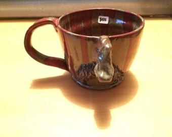 Mustache mug