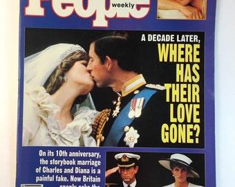 Princess Diana / 1991 / People Weekly Magazine