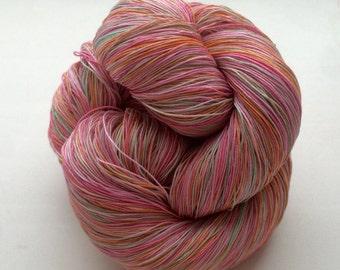 Pastel-  Cotton 100% (2ply ,) handdyed yarn 100g