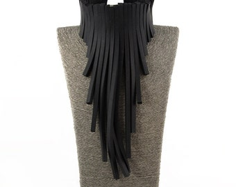Rubber necklace ZOG-15