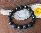 Nuummite Black Bracelet