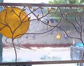 Stained Glass Window Panel personalized wedding gift