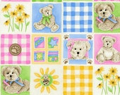 SALE - Boyds Bear - Pastel Bears from SPX Fabrics