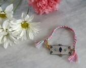 Swarovski Fancy Stone Braided Bracelet
