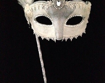 The Bride - Custom Venetian Mask