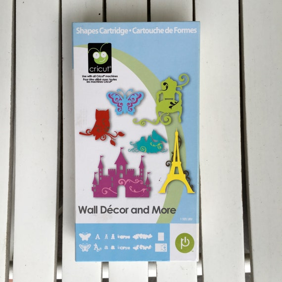 Wall Decor And More Cricut : Cricut shapes cartridge wall decor by provocraft