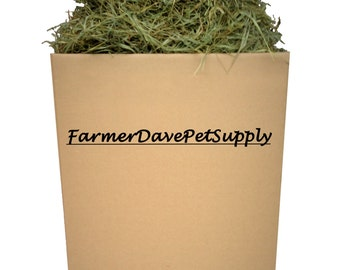 "25 lb Premium 2nd Cut Chinchilla & Guinea Pig Timothy ""HAY-IN-A-BOX"""