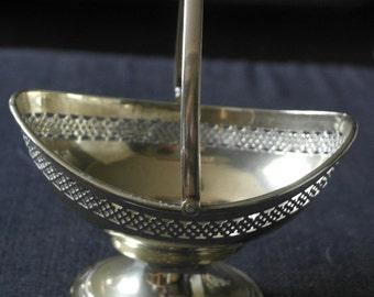 antique silver plate bon bn dish serving bowl
