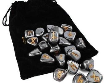 Hematite Rune Set