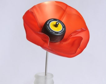 Plastic Bottle Poppies