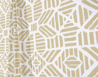 NEW! Athena Gold Ribble. Pair of 2 Drapery Panels. Gold. Bedroom Window Treatments. Metallic Curtains. Gold Curtains.