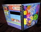 Inside Out DVD outer sleeve notebook