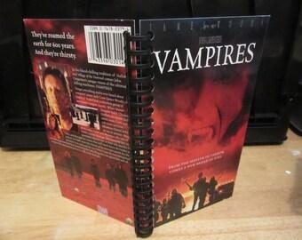 Vampires VHS Notebook