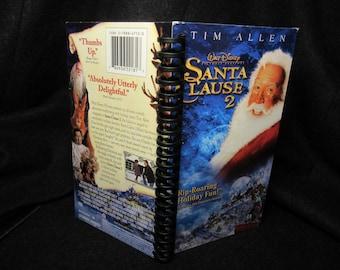 Santa Clause 2 VHS tape box notebook