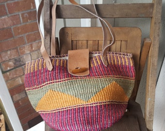 SURF    ///     Woven Jute Tote