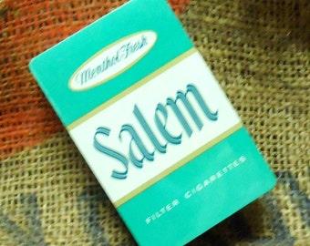 Vintage NOS Salem Cigarettes Deck of Playing Cards