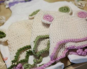 Baby newborn hat photo prop