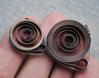 Vintage Soviet watch springs.