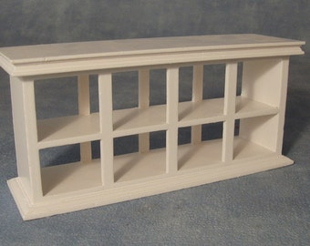 Dolls House Miniature Shop Counter White
