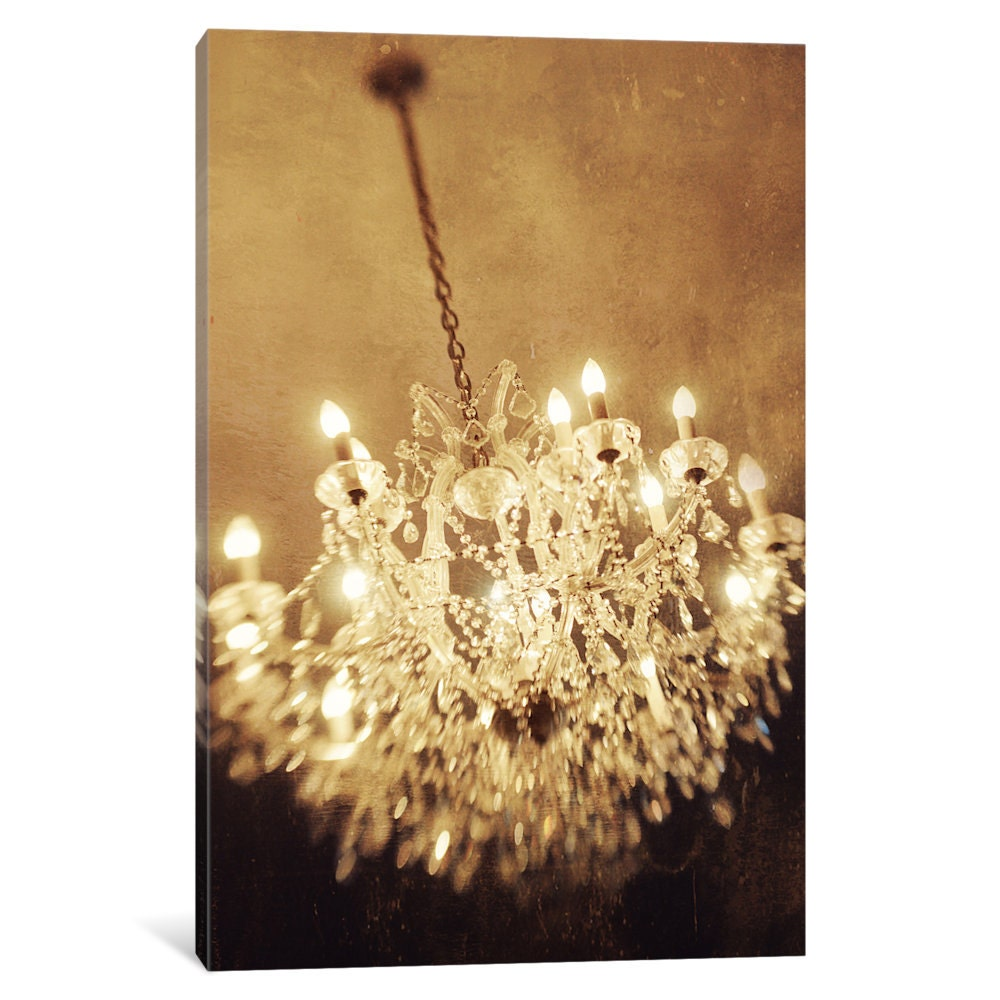 iCanvas The Chandelier Gallery Wrapped Canvas Art Print by