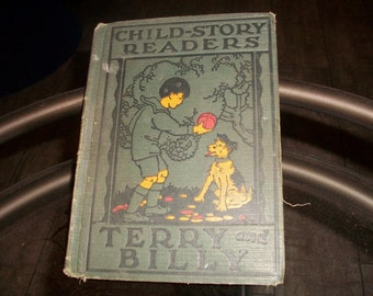 Antique 1920's Child-Story Readers Book
