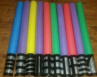 10 Star Wars Pool Noodle Light Sabers Party Favors