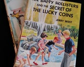 Childrens Books Happy Hollisters 1950s 1960s mystery books Hardback VG condition