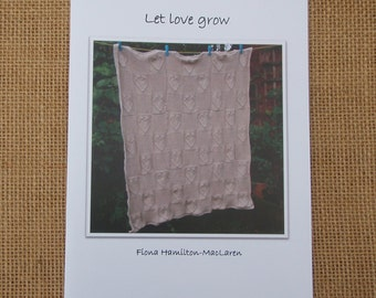 Knitting pattern- Let love grow