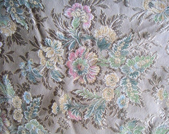 Vintage Damask Fabric,Sewing Projects,Crafting,Home Decor