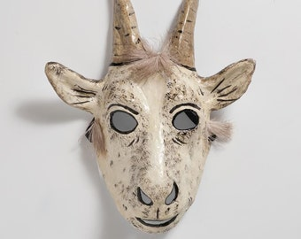 Masquerade goat paper mask