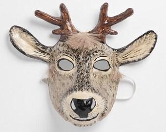 deer paper mask