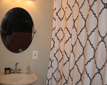 Shower-Curtain-Custom-Made-To-Order -Pick-A-Fabric