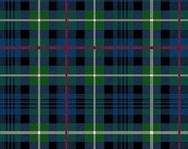 FLANNEL - Green Plaid from Northcott Fabric's Northwood Collection