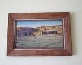 Western Art, Southwestern Decor, Original Signed E A Burbank Oil Painting