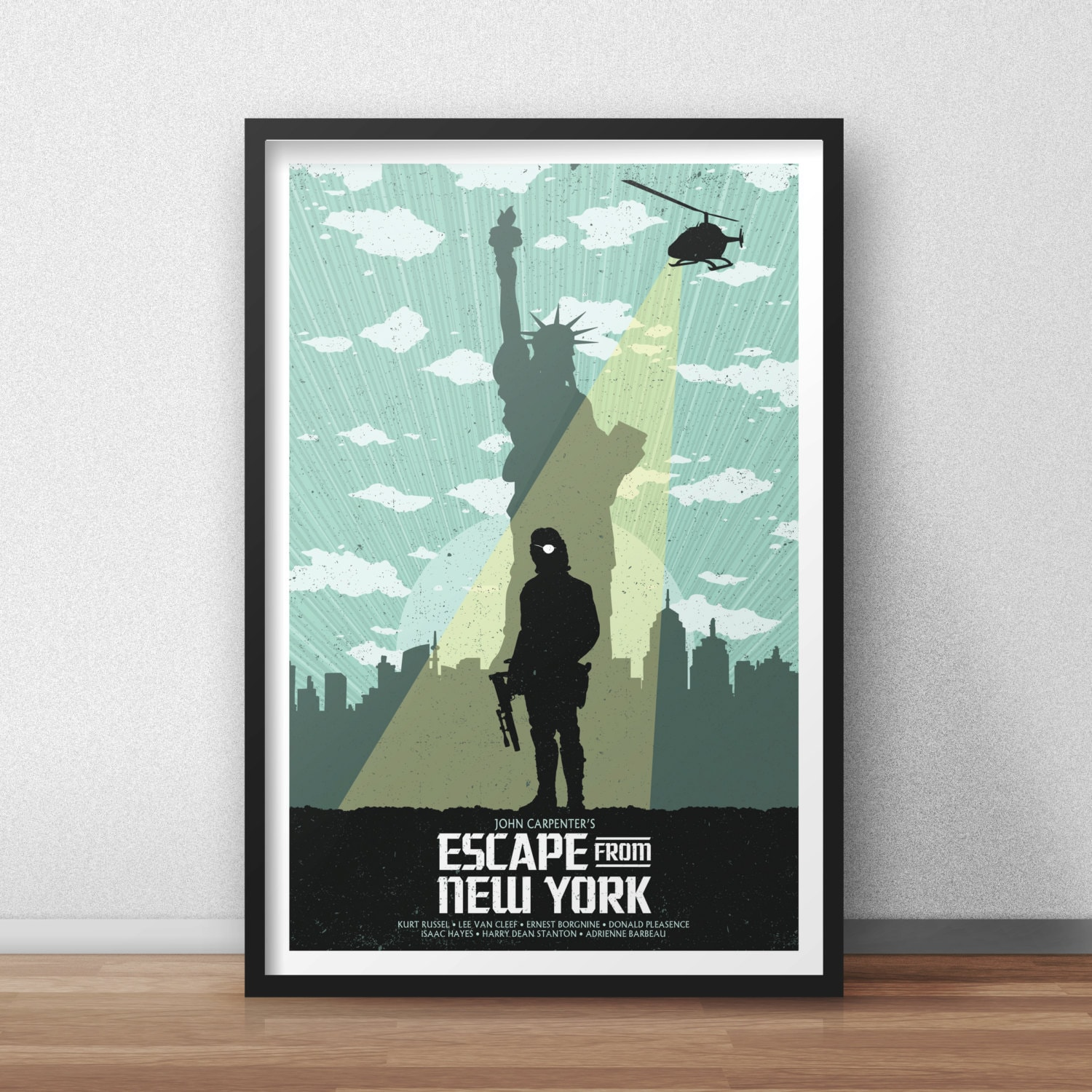 Escape From New York 12 by 18 Inch Print Movie Poster