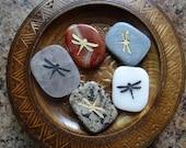 DRAGONFLY Gemstone Animal Spirit Totem for Spiritual Jewelry or Crafts