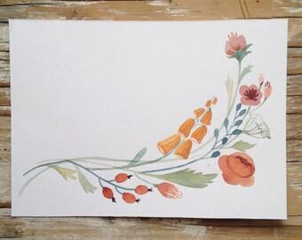 ORIGINAL- Simple Floral